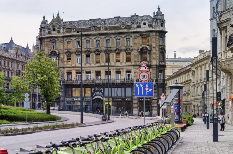 Budapest historical center stock image