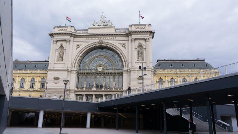 Budapest, Hongrie 03 15 2019 La station de train de Keleti est la gare ferroviaire la plus occupée de Budapest photo stock