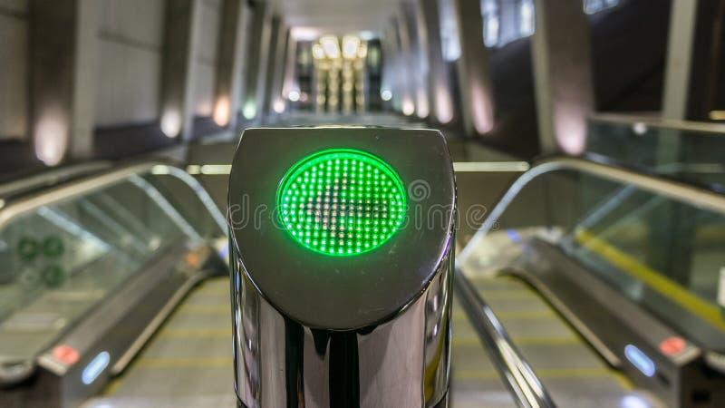 Budapest Hongrie 03 15 2019 : La station palyaudvar de Keleti de la nouvelle ligne 4 de métro à Budapest, Hongrie image libre de droits