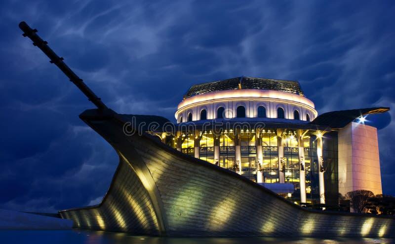 budapest hungarian teatr narodowy obrazy stock