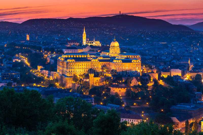Download Budapest, Hungary stock photo. Image of mood, glowing - 27148350
