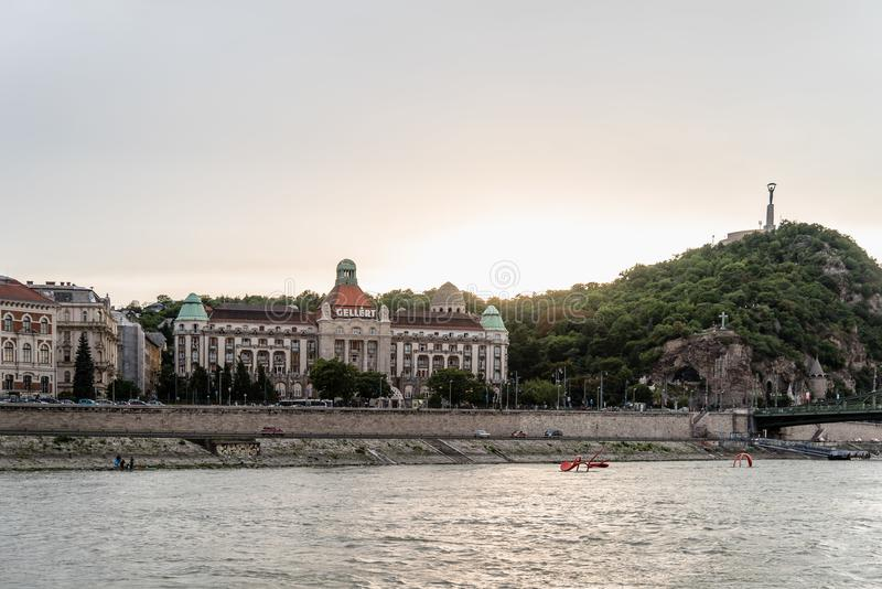 Gellert Thermal Baths and Swimming Pool in Budapest stock photo