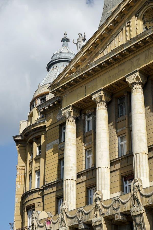 BUDAPEST, HUNGARY/EUROPE - 21 DE SETEMBRO: Casa de Anker em Budapes imagem de stock