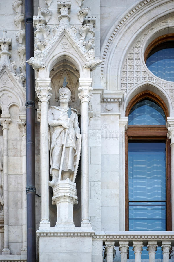 BUDAPEST HUNGARY/EUROPE - SEPTEMBER 21: Ungersk parlament b arkivbild