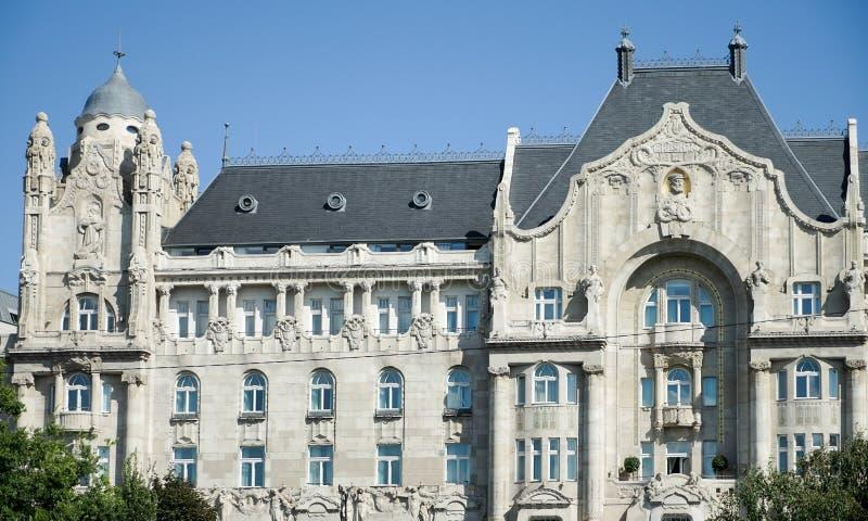 BUDAPEST, HUNGARY/EUROPE - 21. SEPTEMBER: Vier Jahreszeit-Hotel Gre stockbilder