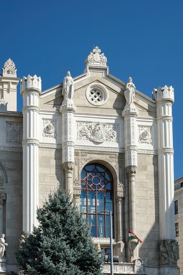 BUDAPEST, HUNGARY/EUROPE - 21 SETTEMBRE: Sala da concerto i di Vigado immagine stock