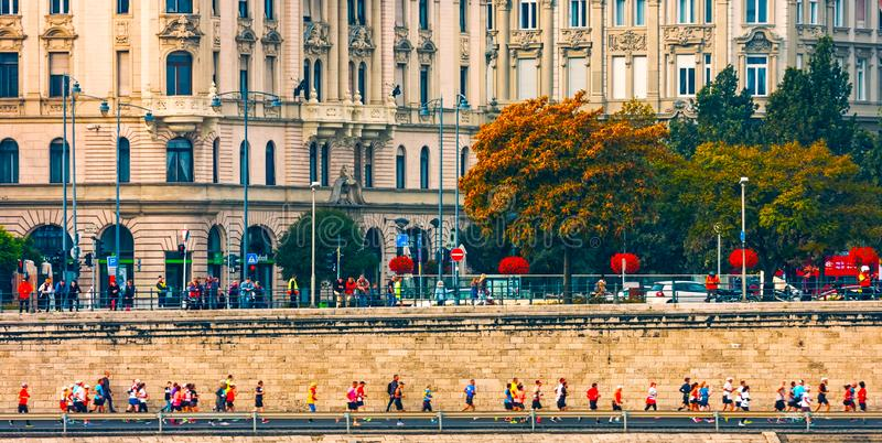 Budapest, Hungary - MAI 01, 2019 : Building of the Hungarian Parliament in Budapest royalty free stock images