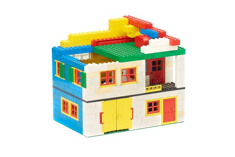 Lego Brick House editorial photo. Image of build, architecture ...