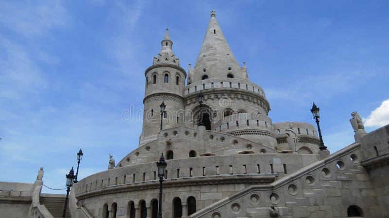 Budapest kasztelu wierza fotografia stock