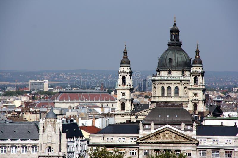 Budapest landmark - Basilica stock photos