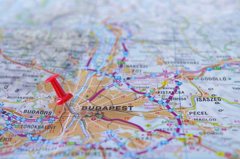 Budapest lopp arkivbild