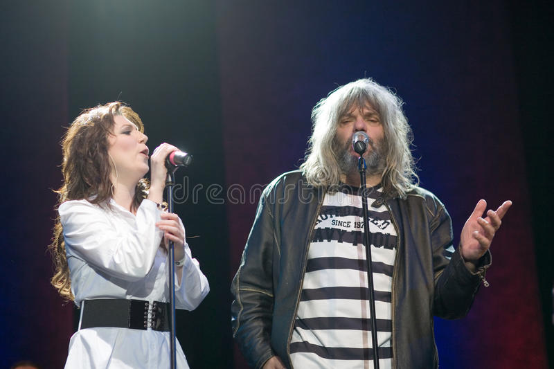 Download BUDAPEST: MagdiRuzsa And HOBO Performs On Millenar Editorial Stock Image - Image: 12841629