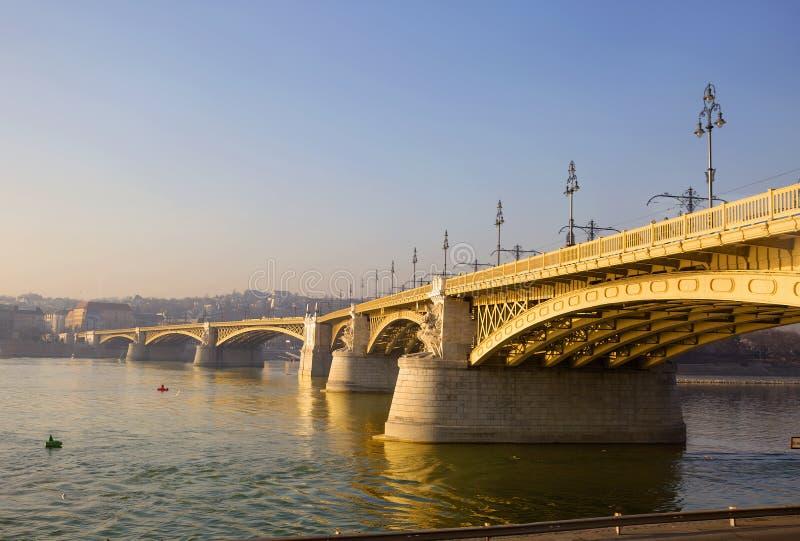 Budapest Margaret most obrazy royalty free