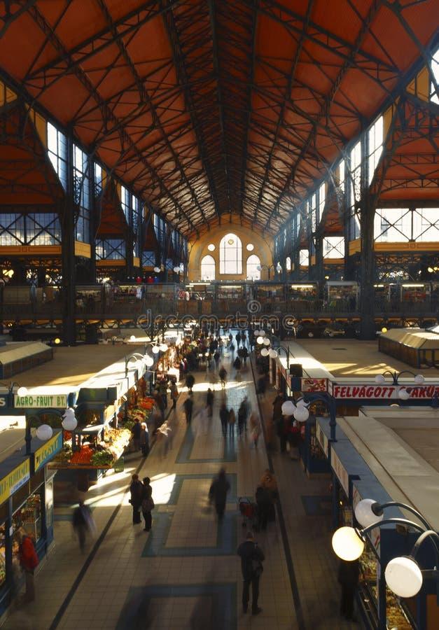 Budapest, Market Hall stock images