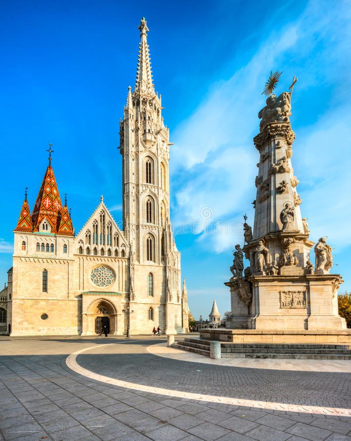 Budapest, Mathias Cathedral, Hongrie photo stock