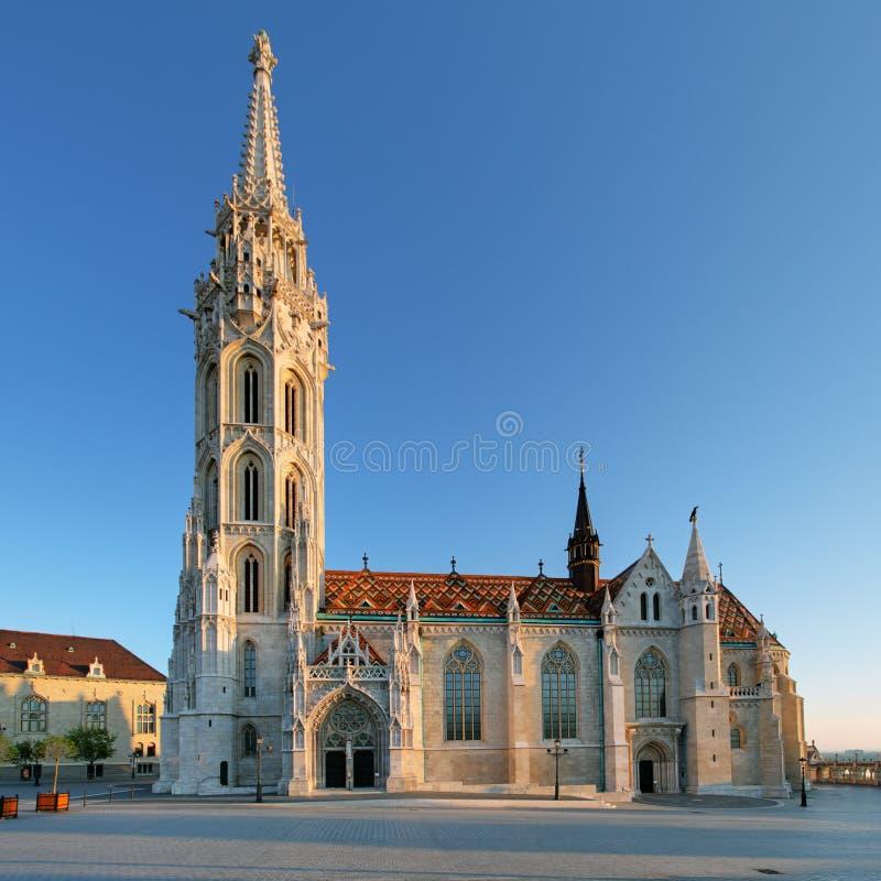 Budapest - Mathias kyrka, Ungern royaltyfria bilder