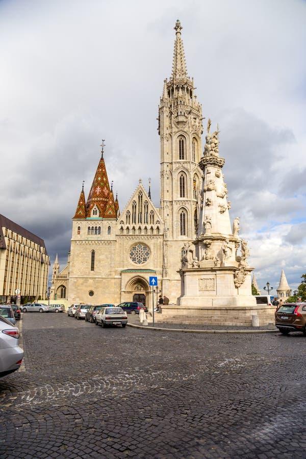 Budapest. Matthias Church2 royalty free stock image