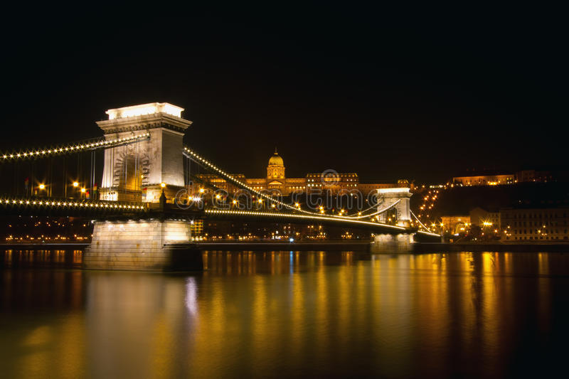 Download Budapest by Night stock photo. Image of hungary, european - 21037734