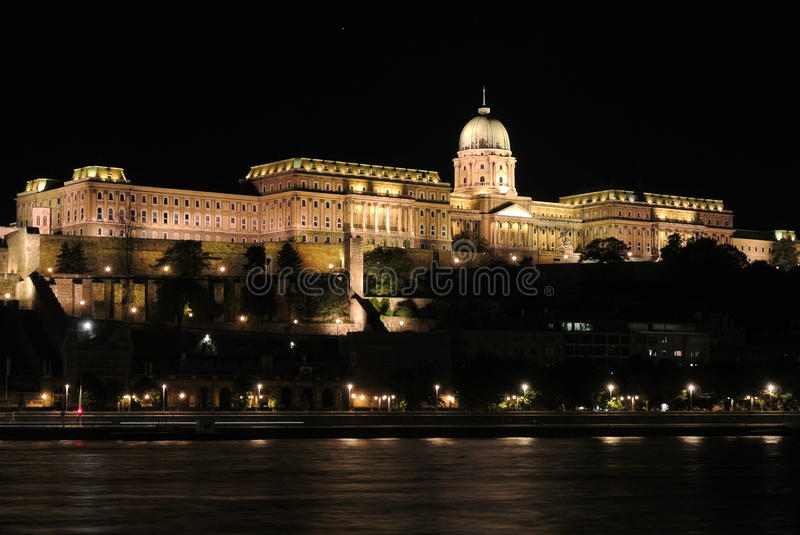 Budapest at night 1 royalty free stock photography