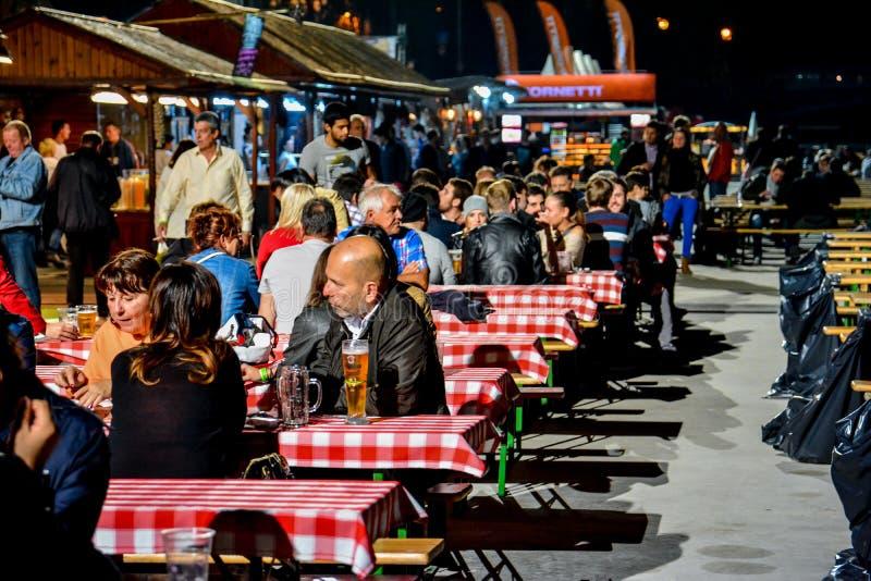 Budapest Oktoberfest stockfotografie