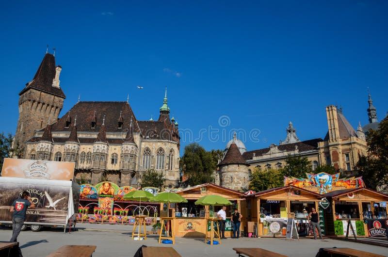 Budapest Oktoberfest lizenzfreie stockbilder