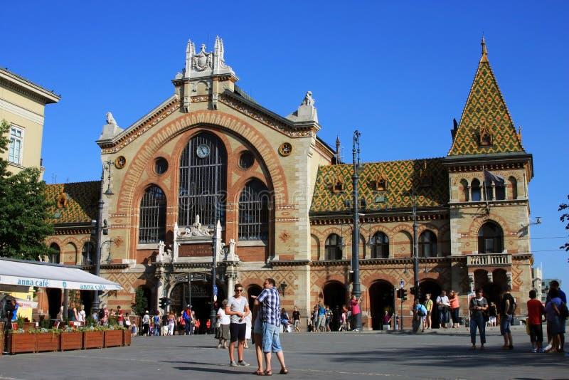 Budapest old market stock images