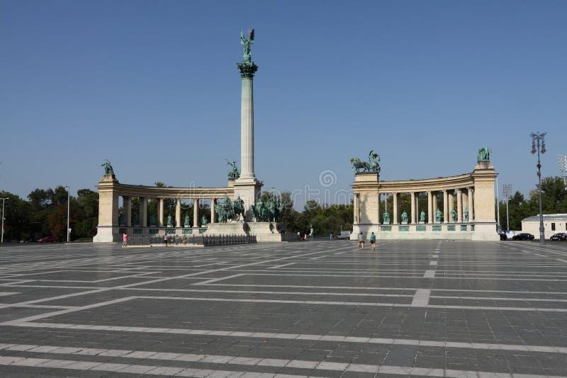 Budapest, Ort der hereos lizenzfreies stockfoto