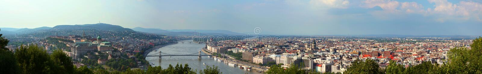 Budapest Panorama Stock Photos