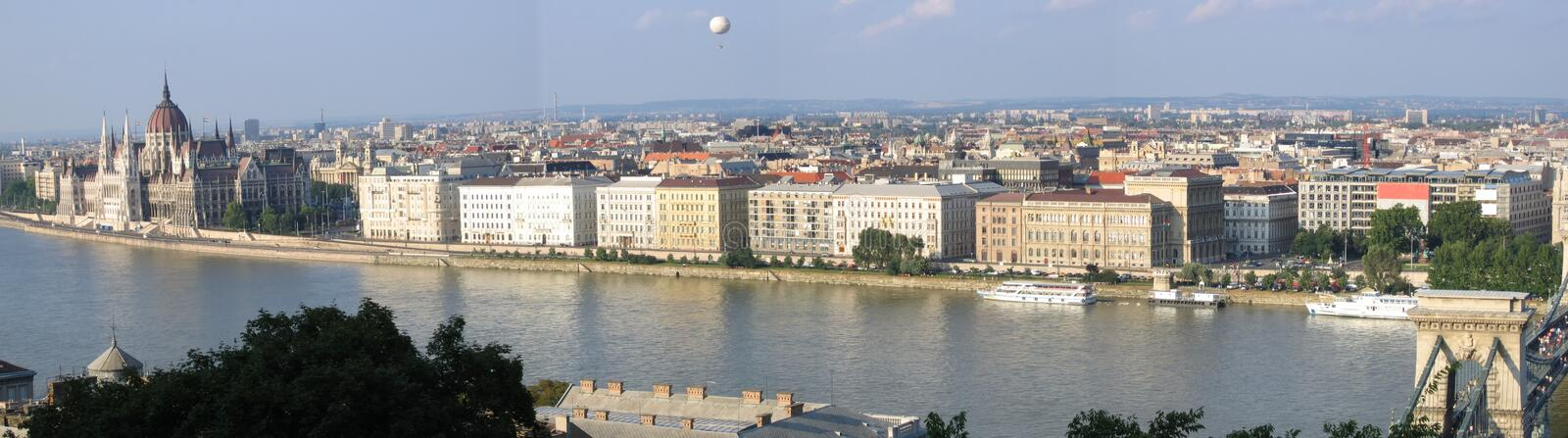 Download Budapest Panorama 2 Royalty Free Stock Photos - Image: 184698
