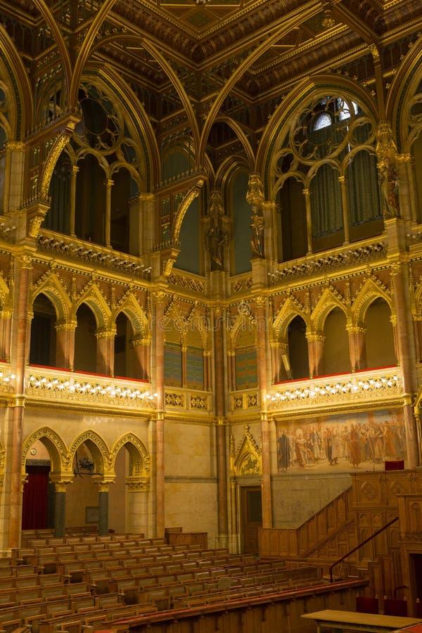 budapest parlament royaltyfria bilder