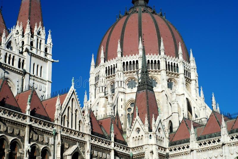Budapest-Parlament stockbilder