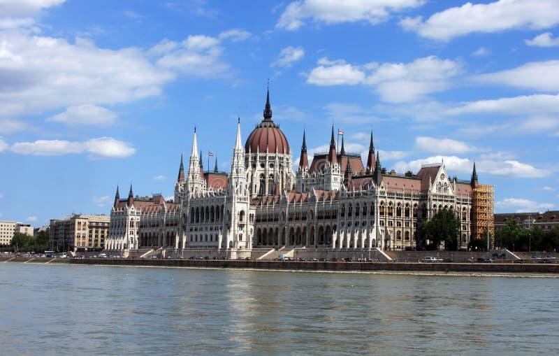Budapest-Parlamentsgebäude lizenzfreies stockbild