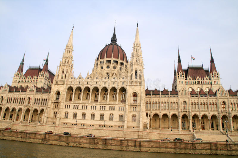 Budapest Parliament royalty free stock photography
