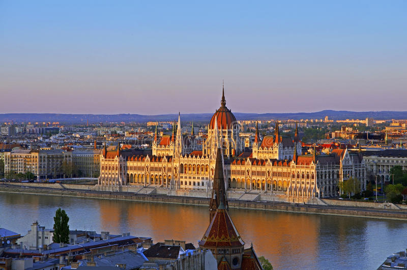 Download Budapest parliament stock photo. Image of duna, summer - 24788868