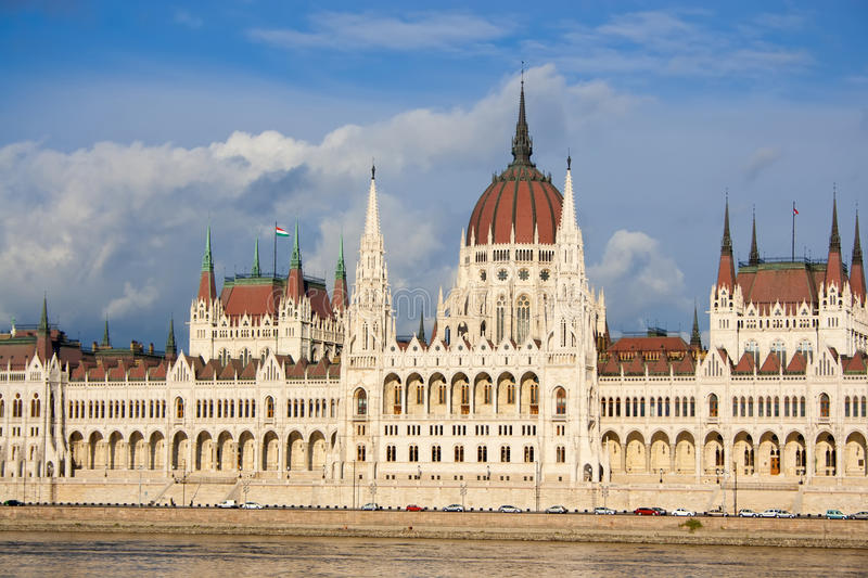 Budapest parliament royalty free stock image