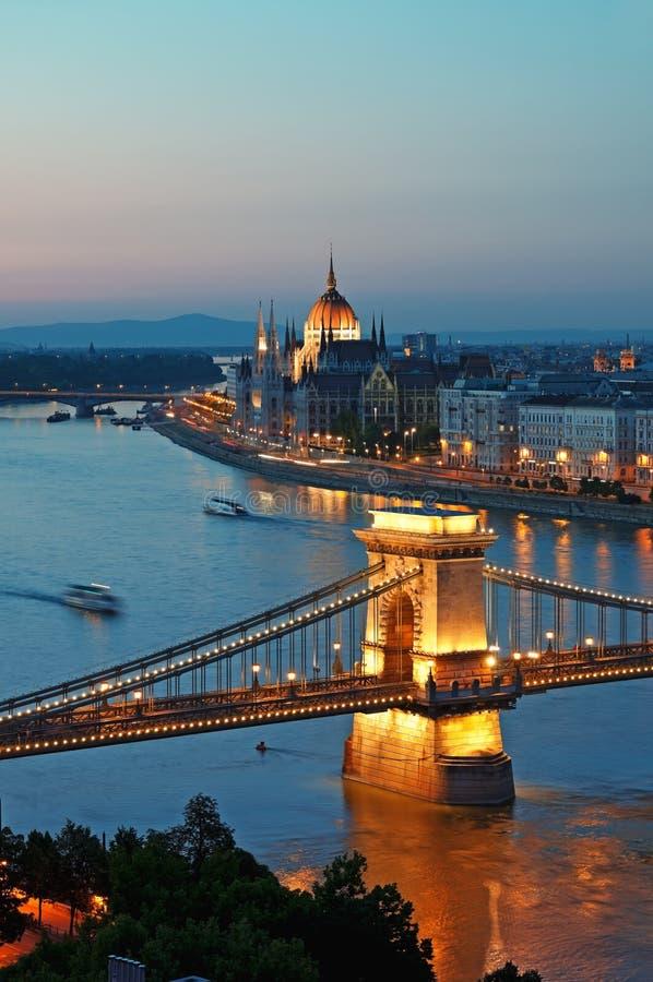 Free Budapest Skyline Stock Images - 20394384