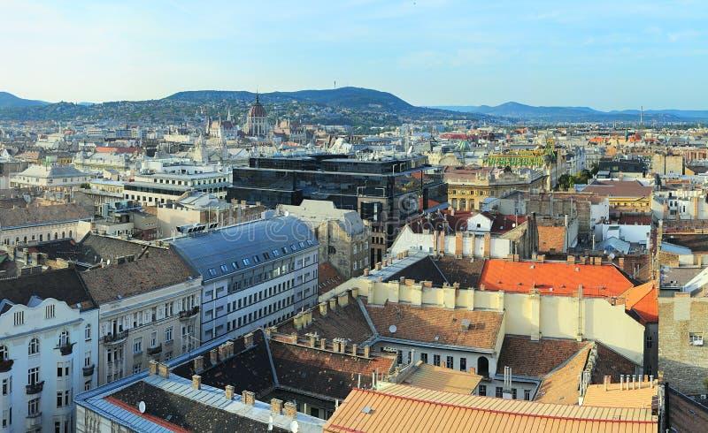 Budapest-Skyline lizenzfreie stockfotografie