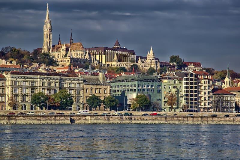 Budapest-Skyline lizenzfreies stockfoto