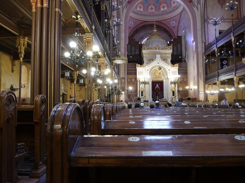 Budapest synagoga 3 arkivbilder
