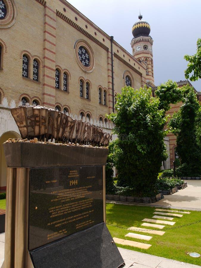 Budapest synagoga 13 royaltyfri bild