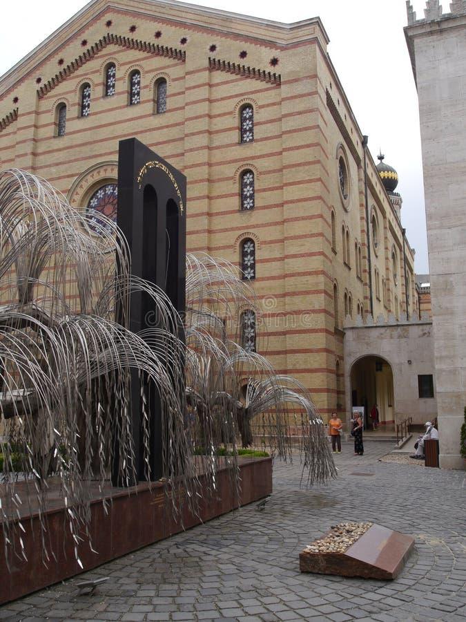Budapest synagoga 17 royaltyfria bilder