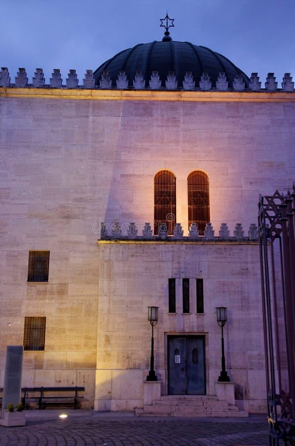 Budapest-Synagoge stockbild