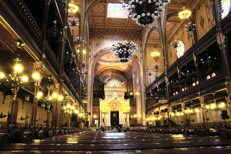 Download Budapest Synagogue stock image. Image of indoors, hebrew - 11906187