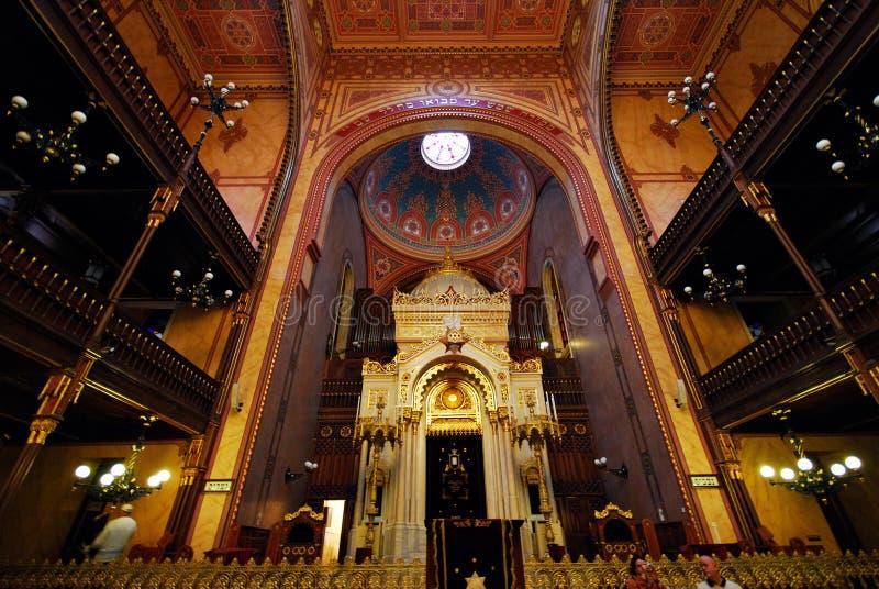 Budapest Synagogue royalty free stock photo