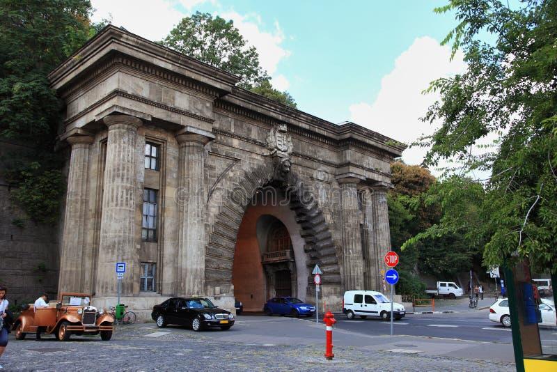 Budapest tunnel fotografia stock