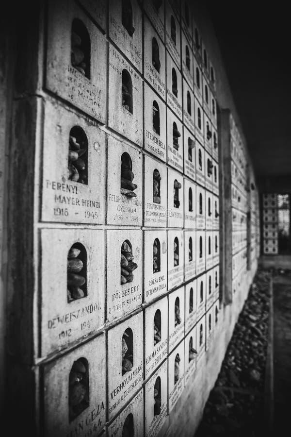 BUDAPEST, UNGARN 30. März 2017, Schwarzweiss-Fotoarchitekturdetails von Budapest-Synagoge, Dohany-Synagoge herein lizenzfreie stockbilder