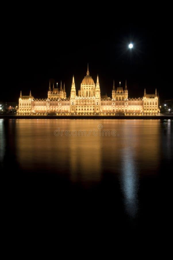 budapest ungersk nattparlament royaltyfri bild