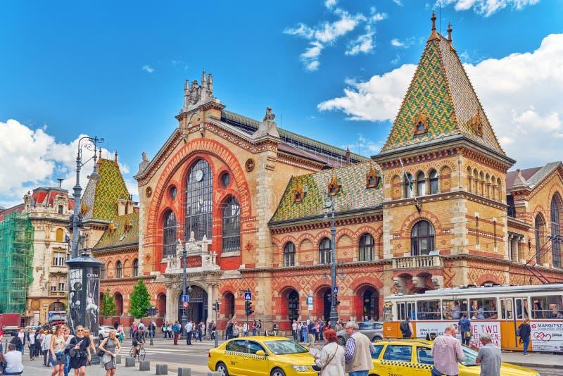 BUDAPEST, UNGHERIA 6 MAGGIO 2016: Grande mercato Corridoio più grande ed o immagini stock libere da diritti