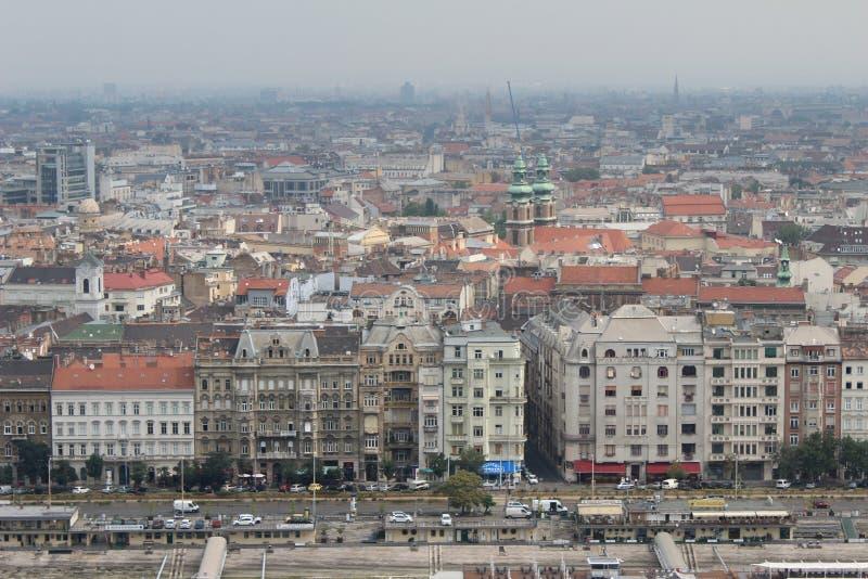 Budapest, vue de parasite image libre de droits