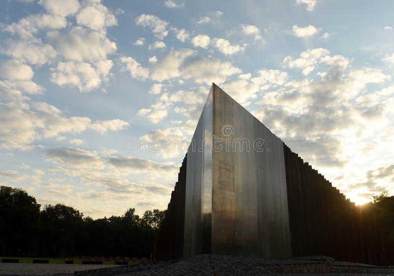 Budapest Węgry, Sierpień, - 29, 2017: Pomnik 1956 Revolu zdjęcia stock